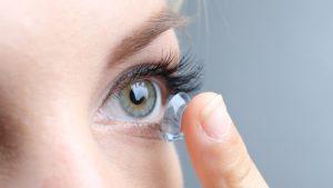 kontak lens, kontak lens kullanımı, yüzücü kontak lensi